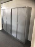 Hoher Querrollladen Büroschrank Aktenschrank Stahl große Stückzahl