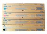 Konica Minolta Toner Set (Schwarz + Farbe) TN216K, TN216Y, TN216M, TN216C