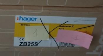 Hager ZB25S Zählerschrank IP44