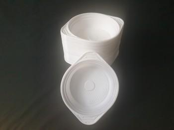 Premium Plastics Einweg Suppenterrine 500 ml 100 St./Pack.